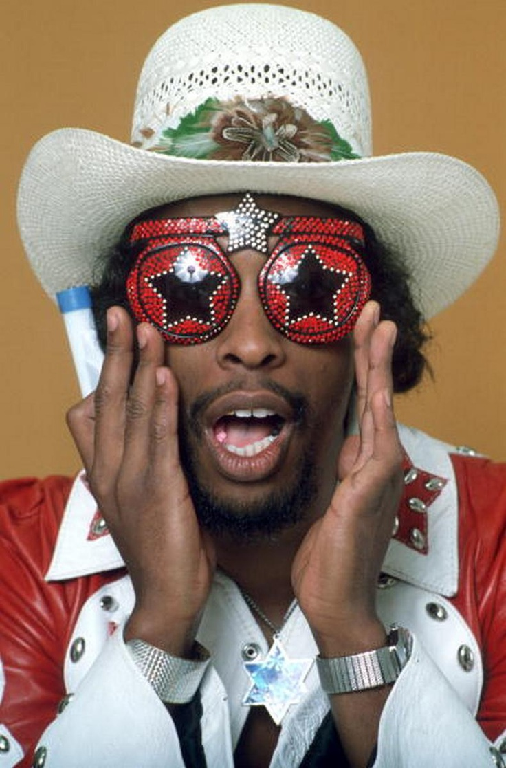 "William Earl ""Bootsy"" Collins is an American funk bassist, singer, and songwriter. Rising to prominence with James Brown in the late 1960s, and with Parliament-Funkadelic in the '70s"