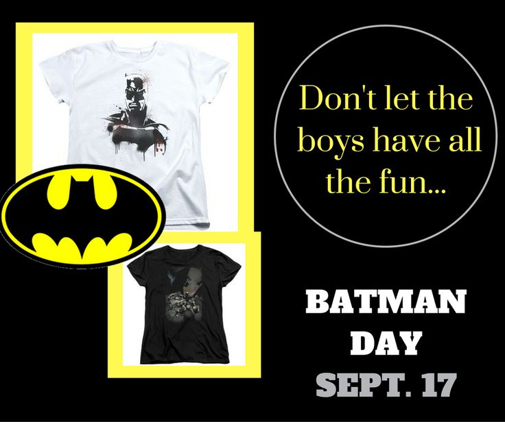 27 best fangirls only images on pinterest batman fandoms unite why should the boys have all the fun batman day is sept 17th fandeluxe Images