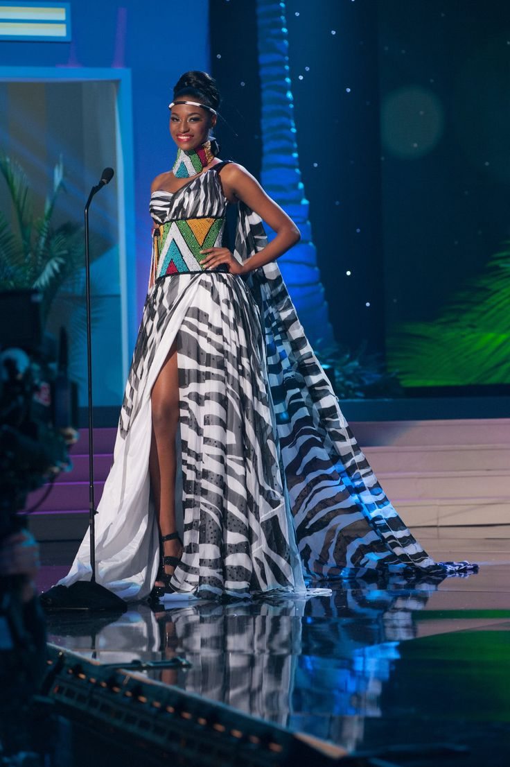 South Africa - National Costume Inspired By The Miss Universe 2015 Pageant