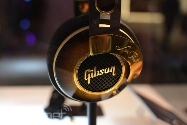 Gibson's fitness-minded headphones may get most of the attention here at CES, but venture inside the company's tent, and you'll discover another line of