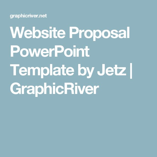 Website Proposal PowerPoint Template by Jetz | GraphicRiver