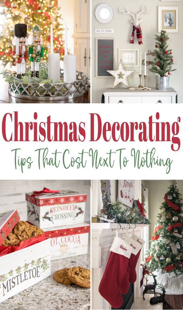 5 Cheap Christmas Decorating Ideas Craving Some Creativity Christmas Decorations Cheap Christmas Projects Diy Elegant Christmas Decor