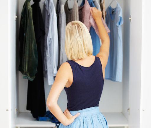 Decluttering your wardrobe is the secret to your happiness. According to this fashion expert, decluttering your wardrobe is essential