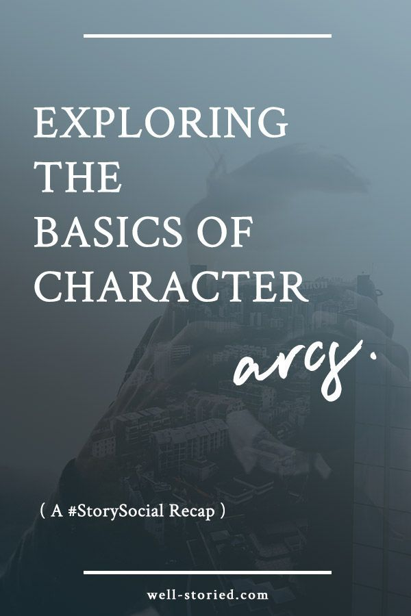 A character arc explores how a character changes on an emotional, mental, intellectual, or spiritual level during the course of a story. Unsure of how to build your own? Get started today by exploring character arc basics in this #StorySocial chat recap from Kristen Kieffer of Well-Storied.com.