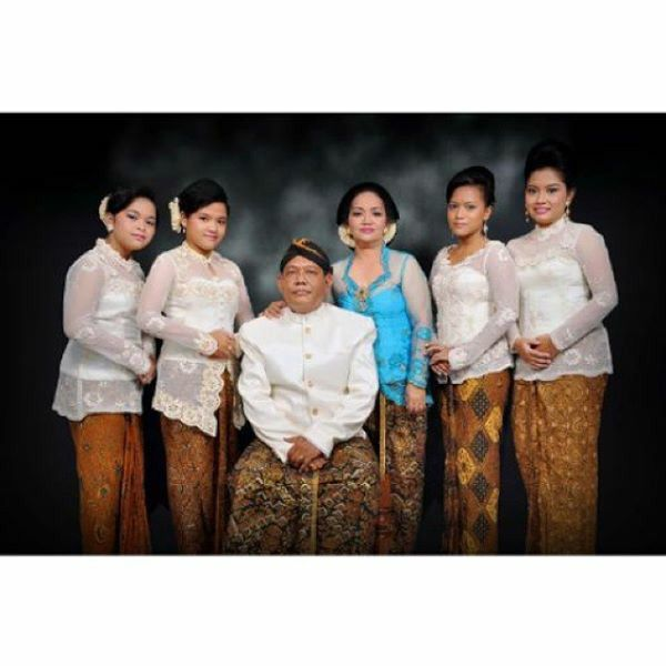 my family in lovely traditional outfit kebaya