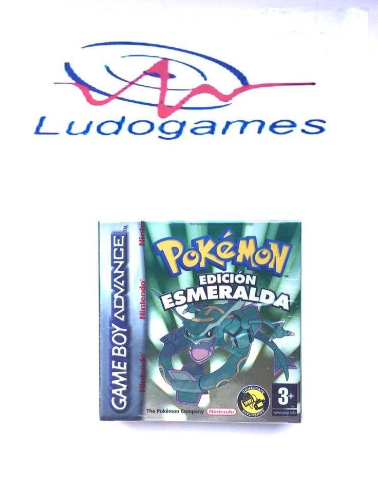 Pokemon Esmeralda GBA Game Boy Advance Gameboy Sealed Precintado Nuevo Retro