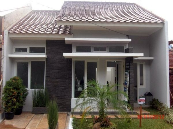 Desain Teras Rumah Minimalis Type 45 Rumah Minimalis Denah Rumah Pedesaan Desain Rumah