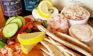 Groupon - Seafood Platter with Tea, Craft Beer or Bottle of Prosecco for Two at W. Hamond Tea Rooms (Up to 47% Off) in Yorkshire. Groupon deal price: £19.95