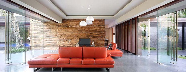 Modern Tropical House - Living Room | Wahana Architects
