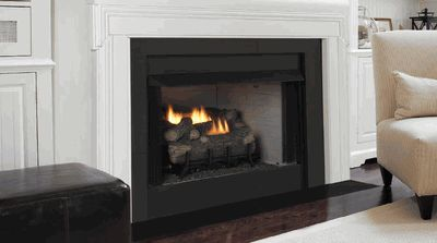 Monessen Universal Circulating/Radiant Vent-Free Firebox with Refractory Brick Liner - 36 Inch