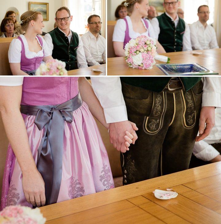 Standesamtliche Trauung Auf Der Fraueninsel Standesamtliche Trauung Dirndl Hochzeit Fotos Hochzeit