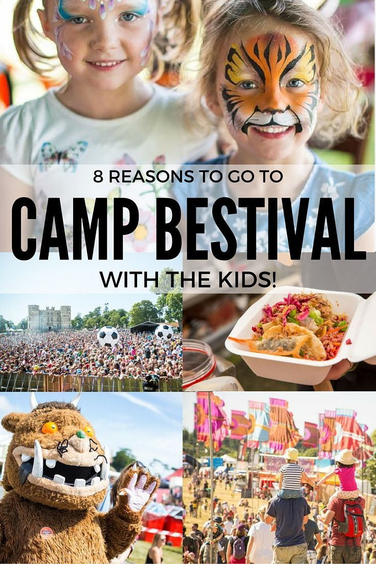 Once Orla is older, I've got my eye on a family ticket to this - 8 Reasons To Take Your Kids To Camp Bestival