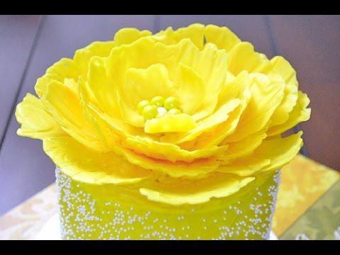 Como Hacer Flores con Caramelos Derretidos - YouTube