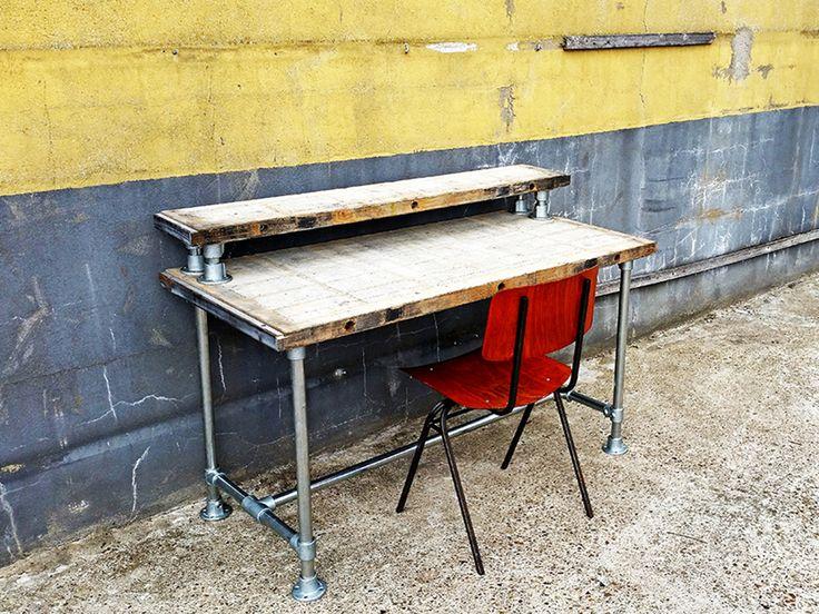 28 beste afbeeldingen over steenschotten meubels op for Tafel van steenschotten