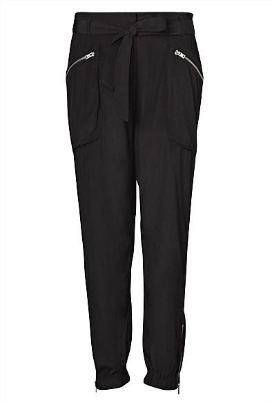 Zip Detail Pant  #WITCHERYSTYLE