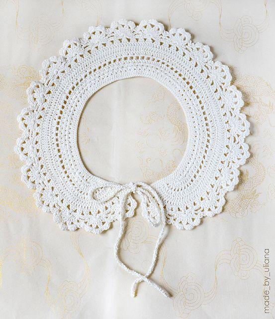 crochet_collar by made_by_uliana, via Flickr