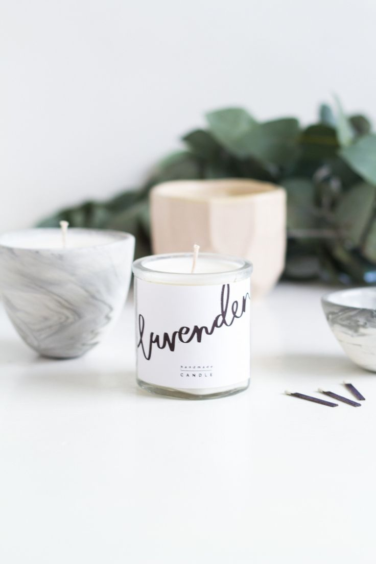 Love this DIY scented candle!
