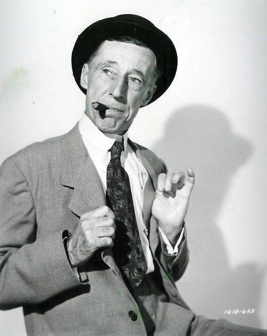 """Percy Kilbride (1888 - 1964) Character actor, best known as Pa Kettle in a series of """"Ma and Pa Kettle"""" movies with Marjorie Main"""