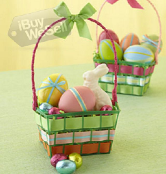 48 best easter australia images by ibuywesell on pinterest make an easter basket from a strawberry carton 15 easy diy easter decoration ideas full of joy negle Image collections