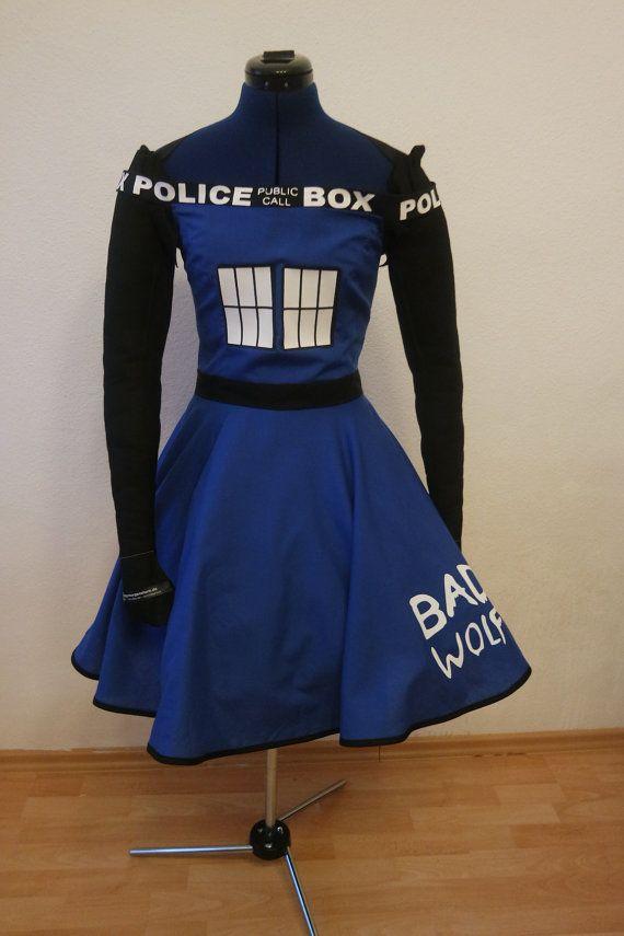 Tardis Kleid von couture4costumes auf Etsy