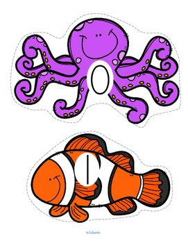 ***FREE***  Set of OCEAN animals, numbered 0-20, to use for counting activities for early learners - preschool, pre-K and Kindergarten. Large pieces for little hands. Animals included are: octopus, clown fish, jellyfish, seahorse, dolphin, sea turtle, crab, shark, sea star, ray, grey whale, lobster, hermit crab, eel, manatee, puffer fish, clam, sand dollar, coral, marlin and squid.