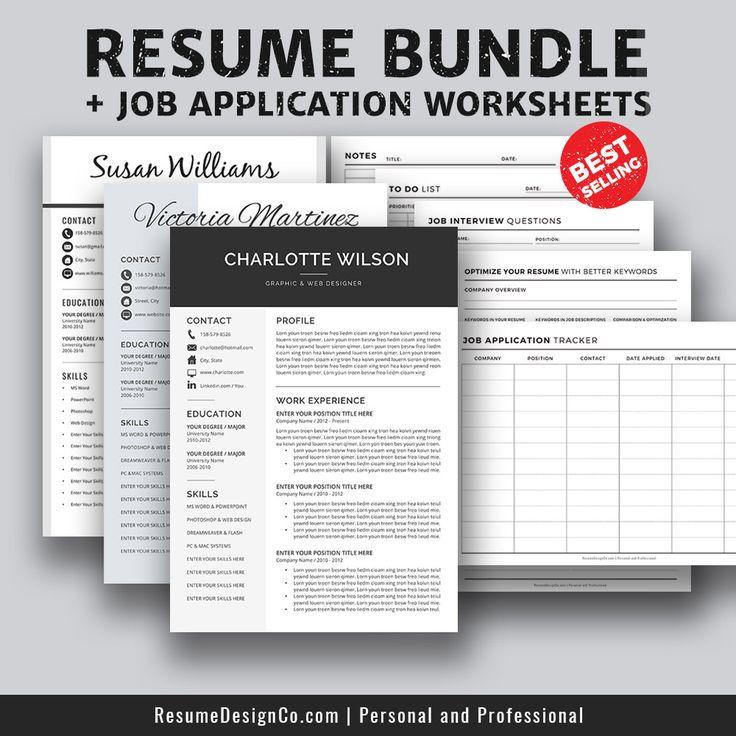 32 best modern resume templates images on pinterest professional resume template resume. Black Bedroom Furniture Sets. Home Design Ideas