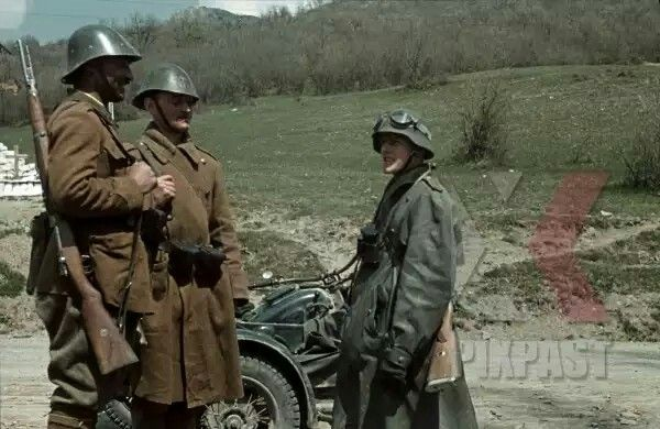 Rostov area, 1942, romanian troops, pin by Paolo Marzioli