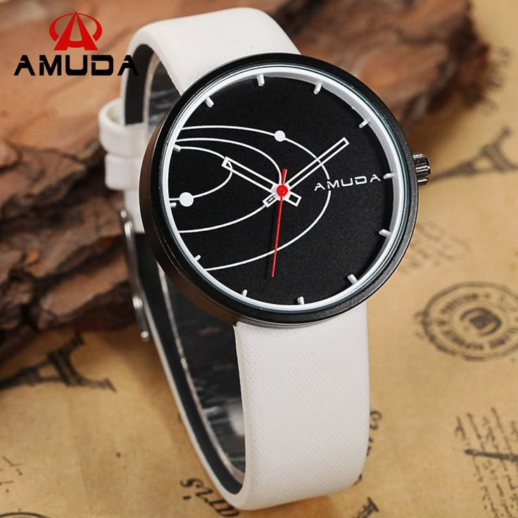 Fashion AMUDA Brand Men's Creative Watch Male Personality Clock Leather Strap Men Sports Military Watches Relogio Masculinoen-in Quartz Watches from Watches on Aliexpress.com | Alibaba Group