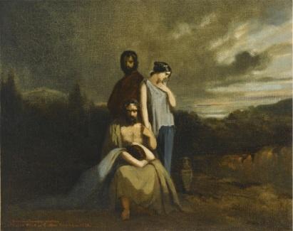 데모스테네스의 죽음 - 귀스타브 모로