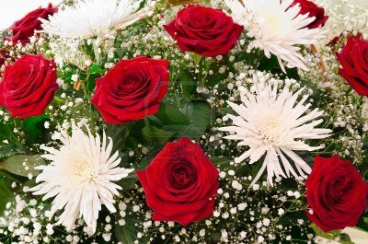 Chrysanthemum's (Bride's Maid 3's) Bouquet, Roses and Chrysanthemums