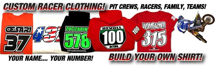 custom motocross mx dirt bike clothing