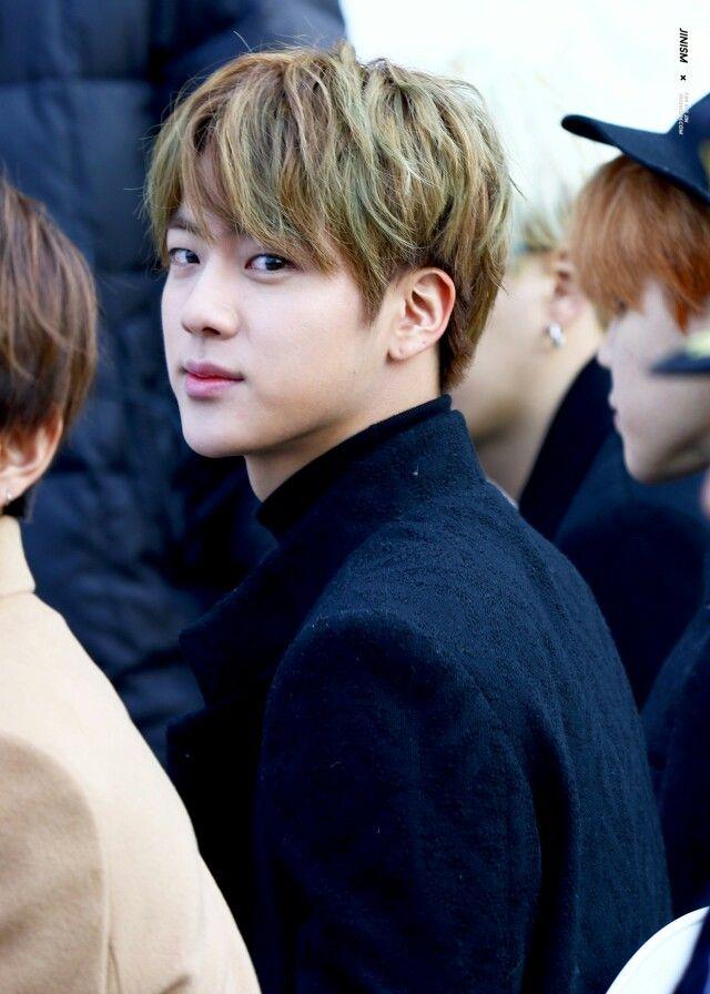 Jin beautiful expression..