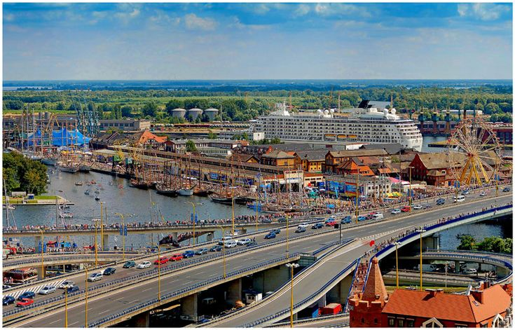 Final of The Tall Ships' Races '07 in Szczecin