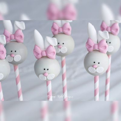 Emmas KakeDesign: Isn't this just the cutest Easter cakepops! DIY pictorial is on the blog www.emmaskakedesign.blogspot.com