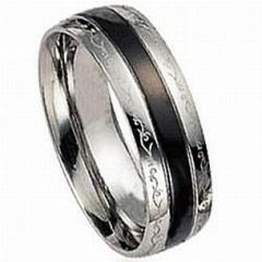Diseños en anillos de acero quirurgico.