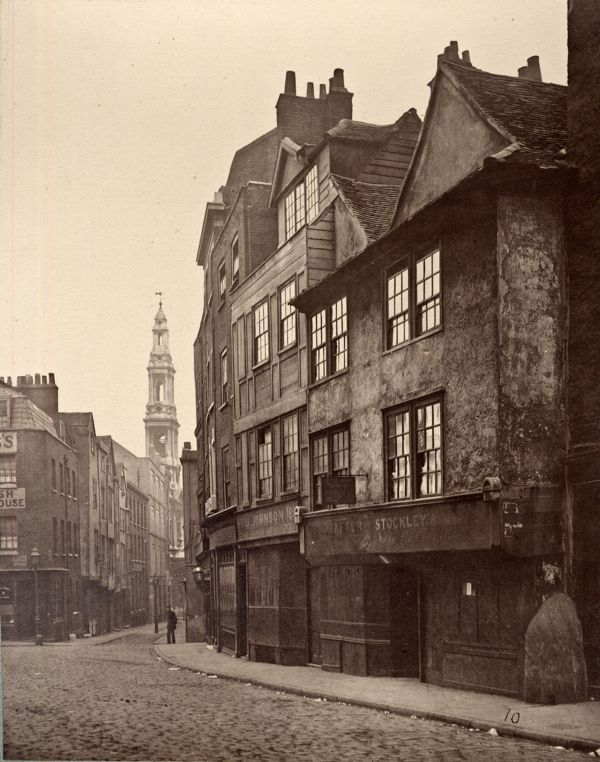 Drury Lane, London, 1876
