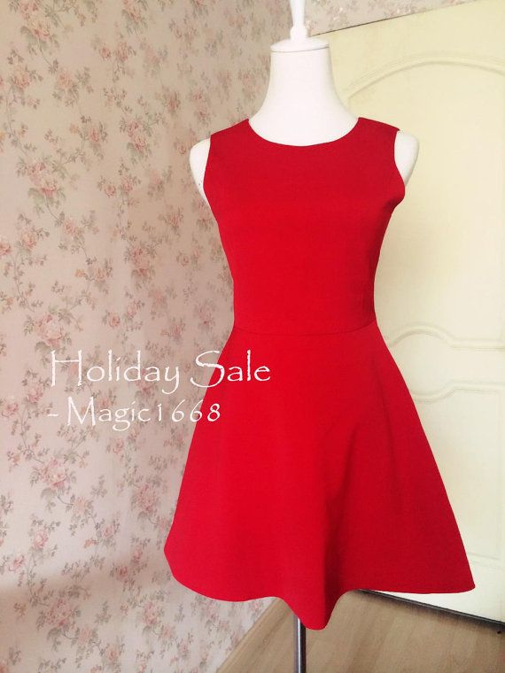 """Fashion Red Dress Red Party Dress Women Dresses, Red Dress for Women - """"happiness"""" by Magic1668 design #etsy #dress https://www.etsy.com/listing/198943183/fashion-red-dress-red-party-dress-women?ref=shop_home_active_9"""
