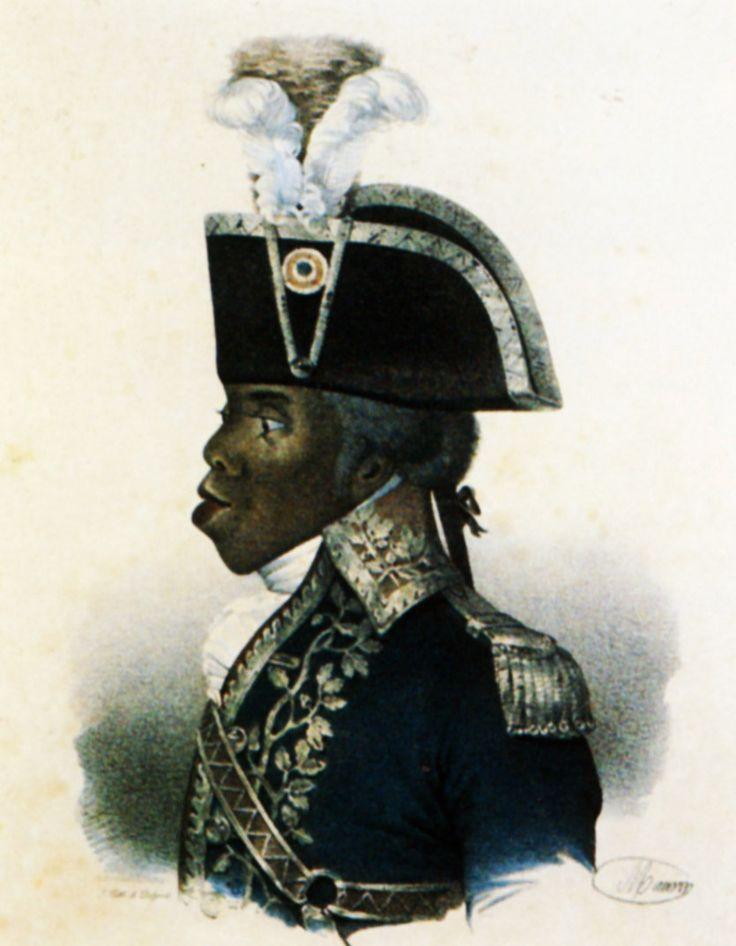 Toussaint Louverture , generale Haitiano