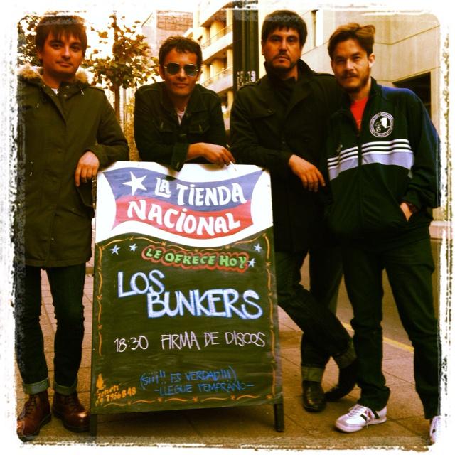 9 abril 2012 Los Bunkers