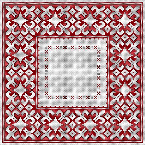 """Bulgarian Motif No.4"" cross stitch pattern"