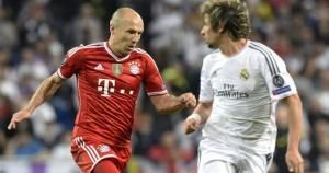Arjen Robben ganó la Champions League el año pasado con el Bayern.  Y sus criticas al estilo de juego del Real Madrid. April 24, 2014