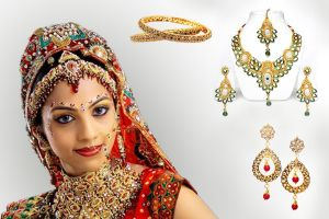 #Goldcoloured accessories are also preferred since they denote #royal connotations to your overall outlook, the evergreen #combinations that can never go wrong with golden #jewellery are #black and #whitedresses. These two extremes can make anybody look #lavish and #royal.The multi-colour #bracelets that cover one third of the arm look superb with casual #tees and #denims, these #bracelets can either be in spring colors like #lavender and #shades of #pink and #yellow or even #neoncolors.