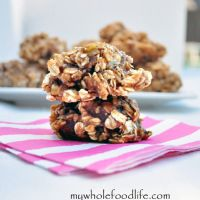 Almond Butter Chocolate Chip Baked Oatmeal | My Whole Food Life