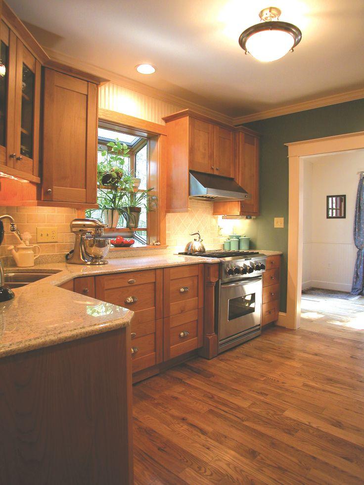 hidden kitchen transitional with - photo #41