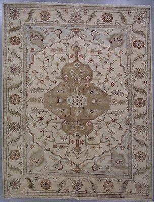 9x12 ivory oushak ushak oriental rug