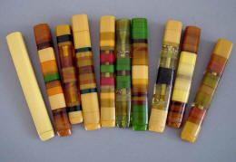Bakelite cigarette holders // i want to smoke so i can have one of these #unhealthyobsessionstimestwo