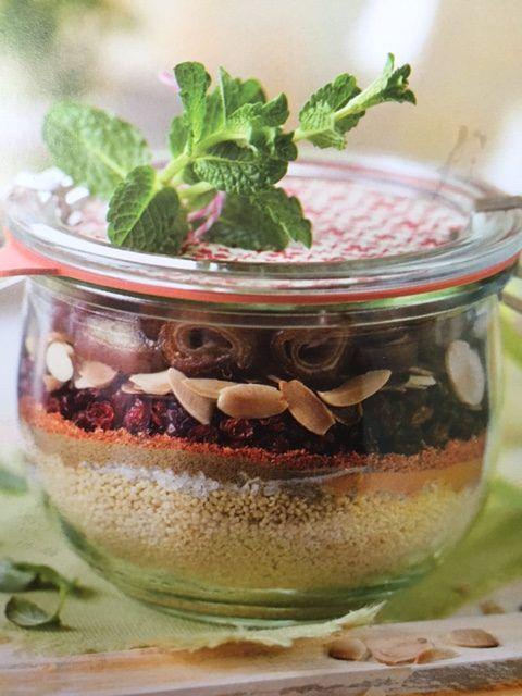 Couscous mit Datteln Zubereitung