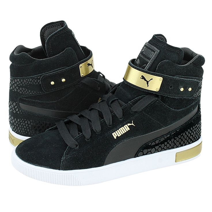 Puma Black And Gold