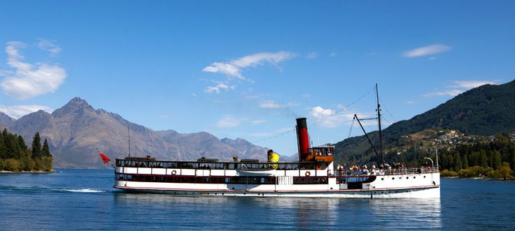 Top 10 Things to do Queenstown: #6 Cruise Lake Wakatipu #Queenstown #Top10ThingsToDo #ExperienceOzNZ #NewZealand #travel #destination #WhatWillYouDo