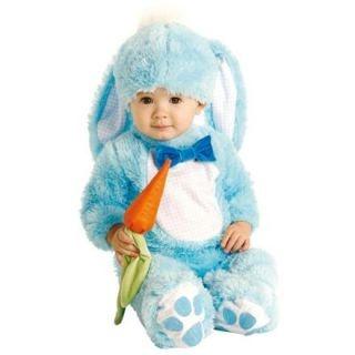 Mavi Tavşan Bebek Kostümü